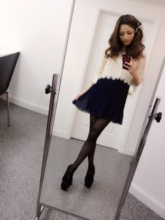 Nozomi Ota : Japanese Fashion model Japanese Fashion, Skater Skirt, Fashion Models, Poses, Skirts, Cute, Beauty, Japanese Models, Figure Poses