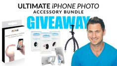"Win a @NovaPhotos Wireless iPhone Flash as part of the ""Ultimate iPhone Photo Accessory Bundle"" (+ Case, Tripod, & Lens Set)"
