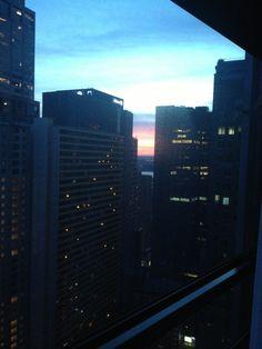 Sunset in new york #new york #ny