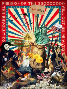 """Feeding of the 320 Million"" - Kenneth Tin-Kin Hung's take on #Occupy Wall Street"