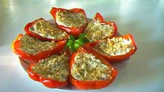 Barchette di peperoni ripieni | Io e...la mia cucina
