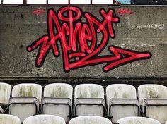 "1,032 Me gusta, 10 comentarios - @achesdub en Instagram: ""#graffiti #handstyle Achez"""