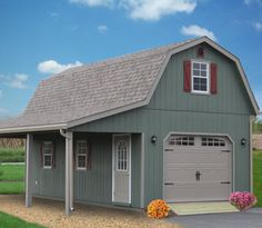 2-Story Single Car Garages | Storage Sheds and Garages