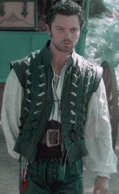 Abraham Lincoln: Vampire Hunter Henry Sturges gypsy look