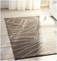 DIY - How to Flatten an area rug permanently !