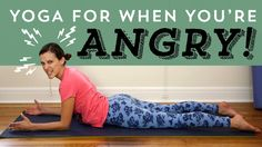 Yoga For When You Are Angry. Wires get crossed. You feel disrespected. You get upset. TRY - Yoga For When You're Angry! This video uses pranayama or breath technique, asana, humor and Acupuncture, Breathe, Le Reiki, Losing Weight, Weight Loss, Free Yoga Videos, Deep Breathing Exercises, Yoga Breathing, Stretching Exercises
