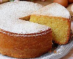 TORTA 4-4 quattro quarti ricetta torta soffice morbida Cookie Recipes, Dessert Recipes, Desserts, Lily Cake, Torte Cake, Yogurt Cake, Cupcakes, Bakery Cakes, Sans Gluten