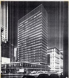 History New York 20th century - Page 9 Lever House 1951