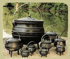 Image detail for -... differences in cast iron pots kettles and cauldrons however it can