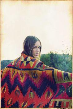 Tribal Poncho #SS14SWIM #VivaLaFiesta #figleaves
