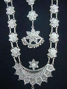 Silver filigri work of cuttack, odisha , india. Fine art of silver