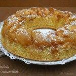 Torta rovesciata di mele caramellate