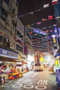 Namdaemun Market, Seoul, South Korea.