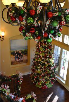 Matching tree and chandeleir