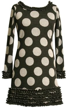Bonnie Jean Girls 7-16 Dot Print Knit Dress Black 10From #Bonnie Jean List Price: $48.00Price: $36.00 Availability: Usually ships in 1-2 business daysShips From #and sold by iPovePou Boutique
