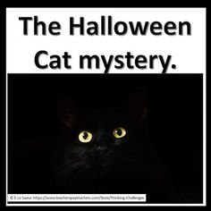 The Halloween Cat Secret Code Mystery Halloween This Year, Halloween Cat, Halloween Activities, Classroom Activities, Team Building Skills, Hollywood Party, Critical Thinking Skills, Fun Challenges, Middle School