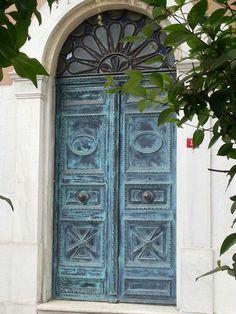 Aged Door, Turkey