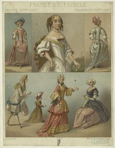 Fashion of the 17th century