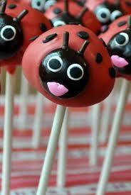 ladybird cake pop - Google Search