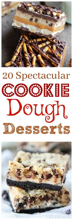 20 Cookie Dough Recipes that need to be made in your kitchen!