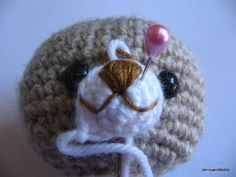 How to put the eyes on amigurunmi doll