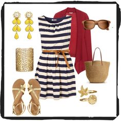 Life's a Beach, created by katpatterson00 on Polyvore