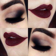 #Makeup en tonos Burdeos ¿qué opinas?