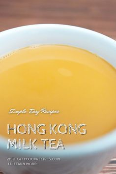Hong Kong style milk tea is a tea drink made from black tea and milk. It is a highly caffeinated, wonderfully smooth hot beverage enjoyed in bakeries, cafes and restaurants across Hong Kong! It is an authentic Chinese cuisine recipe with simplified steps and ingredients required! Check out our website where could you find the written step by step recipes with images and videos to teach you how to become a better cook at home!