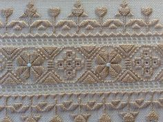 Pair of matted and framed Hardanger Embroidery needlework Swedish Embroidery, Hardanger Embroidery, Types Of Embroidery, Paper Embroidery, Embroidery Stitches, Embroidery Patterns, Crochet Doily Patterns, Bead Loom Patterns, Doilies Crochet