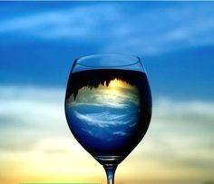 """In water, one sees one's own face, but in wine one sees the heart of another...""   French Proverb"