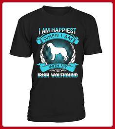 Irish Wolfhound Cute TShirt - Wolf shirts (*Partner-Link)