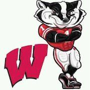 BADGERS College Cheer, College Football Teams, Flag Football, Future Tattoos, Tattoos For Guys, Wisconsin Badgers Football, Badger Sports, University Of Wisconsin, Green Bay Packers