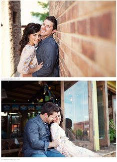 Downtown Engagement Photography