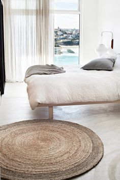 Minimalistic home inspiration with cotton textiles, white linen and neutral influences! https://www.theprettyblog.com/house/loving-these-local-textile-brands/?utm_campaign=coschedule&utm_source=pinterest&utm_medium=The%20Pretty%20Blog&utm_content=Loving%20These%20Local%20Textile%20Brands