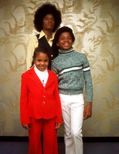 Janet Jackson, Michael Jackson, Randy Jackson