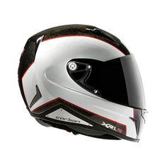 """XR1R CARBON WHITE RED """"Nexxpro was the first company in Portugal using technology for the production of fiber helmets"""""""