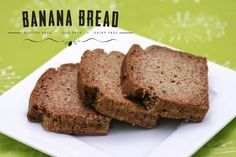 Banana Bread. Gluten free, egg free, dairy free. Thermomix TM5 Edition.