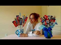 A Candy Bar Bouquet is really a nice gift! Its inexpensive to make. You can purchase your vase at a dollar or thrift store. All the supplies are affordable and what you create looks more expensive than what you put into it! Its yummy and cute and brings a big smile to that chocolate lover in your life! This tutorial shows you how simple it is to...