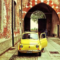 #Fiat500 #Yellow #onboardFiat