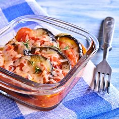 Baked Ratatouille with veal - BEABA