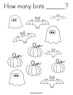Dont be scared these ghosts are friendly Ghost Worksheets from
