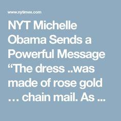 NYT Michelle Obama S