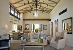 """Family Estate - custom 5,000 sq ft """"cottage"""" designed & built by Patrick (creator of the Culinary Cottages), built at Huerta San Vicente + 5,000 sq ft warehouse at back of property ($5 Million)"""