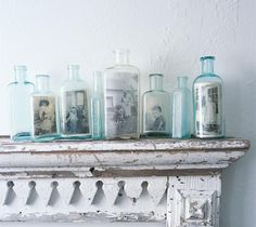 DIY: Marcos de fotos con botellas de cristal