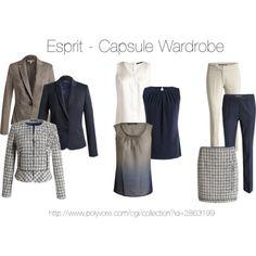 """capsule wardrobe"" by oxigenio on Polyvore"