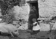 Taken on the Aran Islands between l898 and 1902 by the playwright John Millington Synge