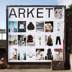 """Read all about the identity of Arket on It's Nice That(link in bio) - """"The main counterpart of Arket's identity is its typeface, Arket Sans by Icelandic and Danish design duo, Or Type. The pair had the difficult task of responding to a brief """"that did not yet reveal the brand name or much of the concept, but alluded to it,"""" Arket explain. """"It asked for a European sans serif with humanist qualities, looking for an archetypal appearance at first glance, but some character and imperfection…"""