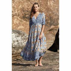 Ophelia Tessa Maxi Dress Drawstring Waist, Bodice, Dresses, Fashion, Vestidos, Moda, Fashion Styles, The Dress, Fasion