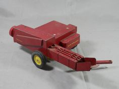Vintage Ertl Square Baler New Holland 1:16 Scale Die Case Farm Implement Sperry Rand by WesternKyRustic on Etsy