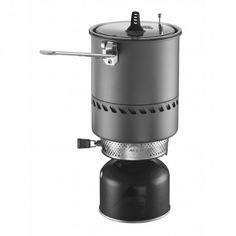 MSR Reactor 1.7L Stove System - Not the most efficient...definitely the FASTEST! When you need coffee in < 3 minutes.